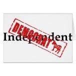 Independiente: DEMÓCRATA Felicitación