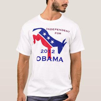 Independiente para la camiseta de Obama