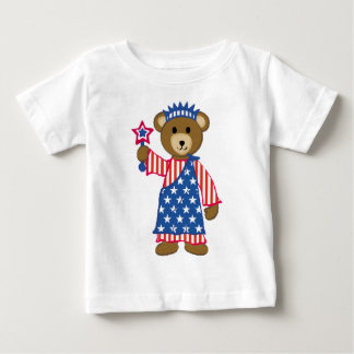 Indepependence Bear Infant Shirt