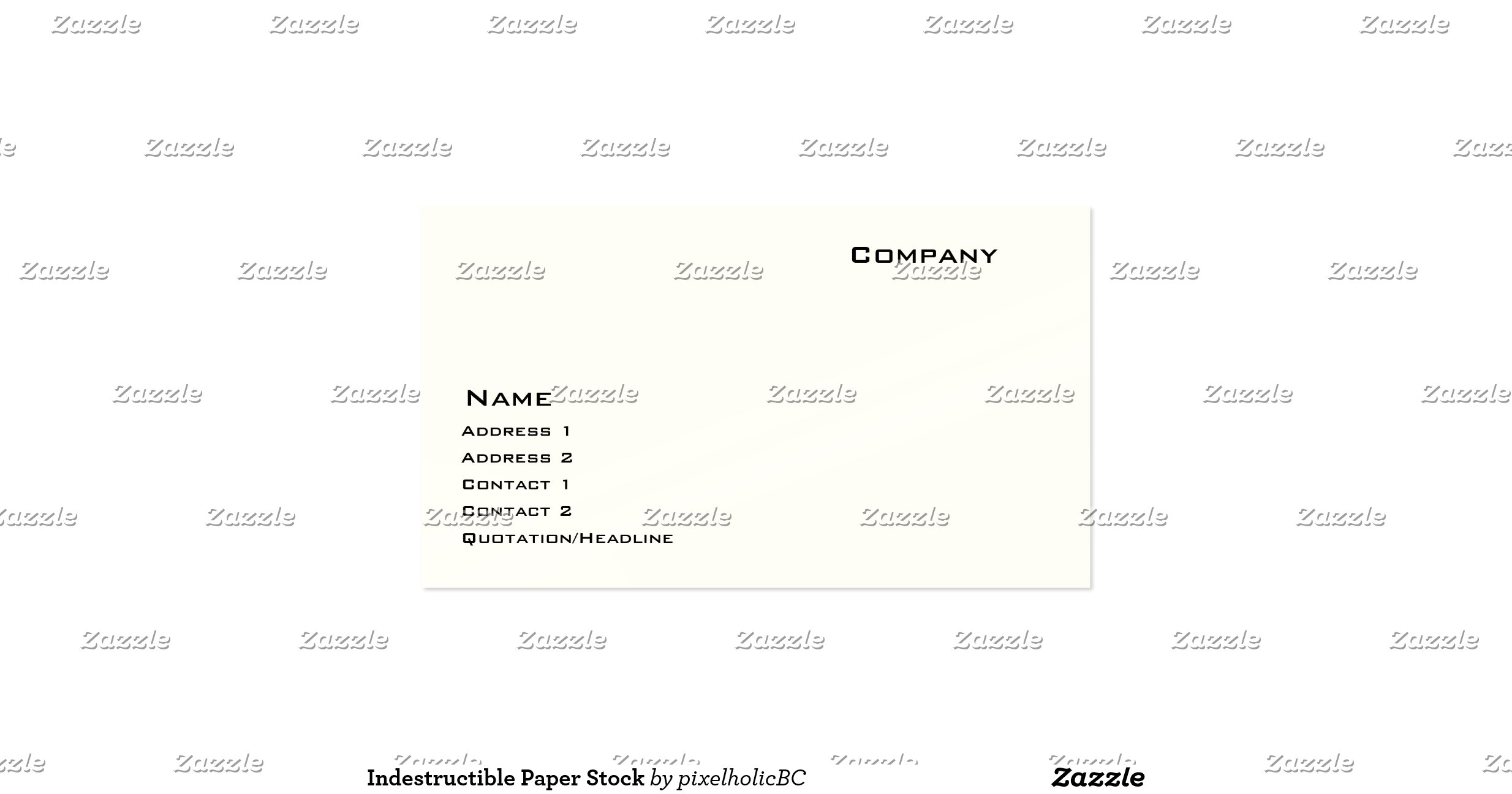 paper stock options for business cards