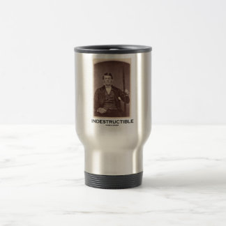 Indestructible (Phineas Gage) 15 Oz Stainless Steel Travel Mug