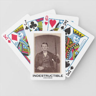 Indestructible (Phineas Gage) Bicycle Playing Cards