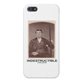 Indestructible (Phineas Gage) Cases For iPhone 5