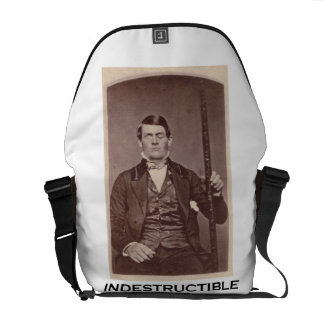 Indestructible (Phineas Gage) Courier Bags