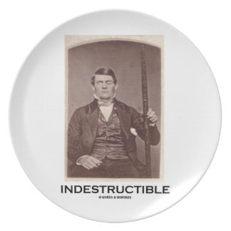 Indestructible (Phineas Gage) Dinner Plate