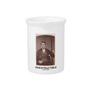 Indestructible (Phineas Gage) Drink Pitcher