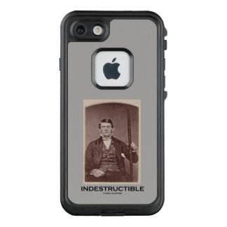 Indestructible Phineas Gage Psychology Humor LifeProof FRĒ iPhone 7 Case