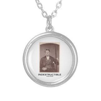 Indestructible (Phineas Gage) Round Pendant Necklace