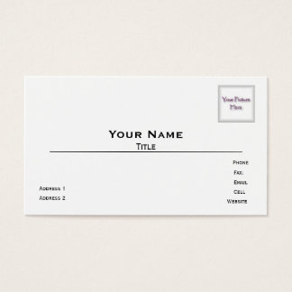 Indestructible Photo Business Cards
