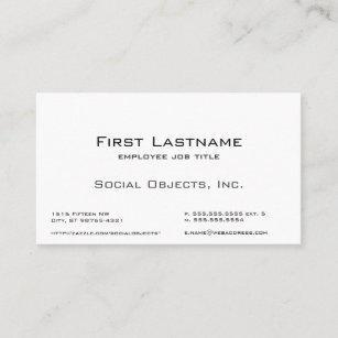 Indestructible business cards zazzle indestructible serif bank gothic template business card colourmoves