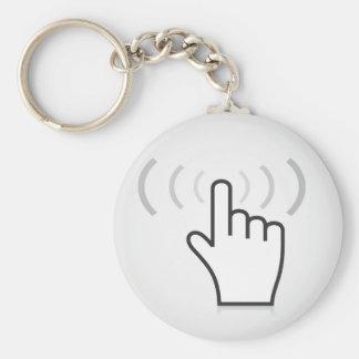 Index a hand keychain