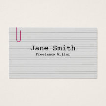 Index Business Card