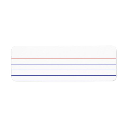 Index Card Label