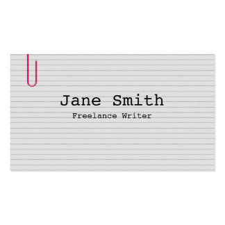 Index Double-Sided Standard Business Cards (Pack Of 100)