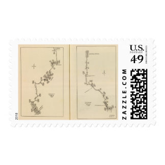 Index map Albany, Saratoga Springs Postage