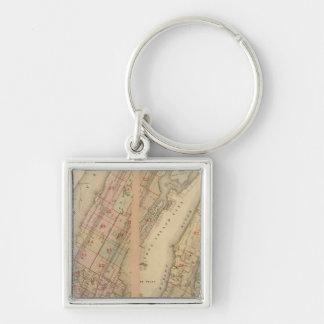 Index map Atlas, city of New York Keychain