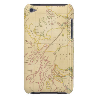 Index map barely there iPod cover