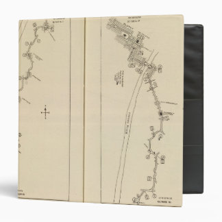 Index map Columbia County Rensselaer County NY 3 Ring Binders