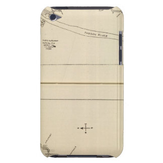 Index map Columbia County Rensselaer County NY iPod Case-Mate Case