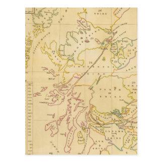 Index map postcard