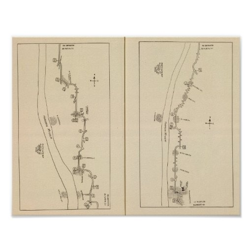 Index map Putnam County Dutchess County New York Poster