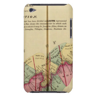 Index map to Atlas of the Upper Ohio River iPod Touch Case