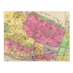 Index map Yonkers atlas Postcards