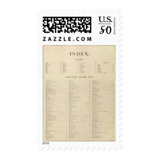 Index New commercial atlas Postage