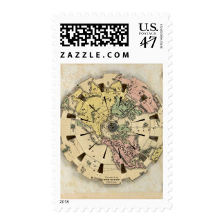 Index of Patent Folding Globe Postage