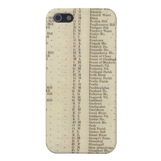 Index Perth, Clackmannan Shires iPhone SE/5/5s Case
