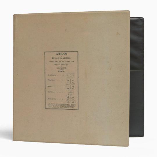Index to Atlas Binder