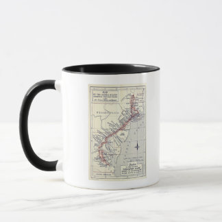 Index to the Plates in Survey of the Roads Mug