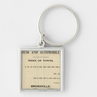 Index Towns, Bronxville Keychain