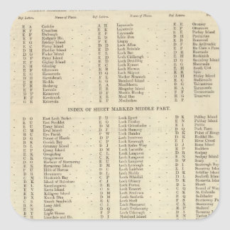 Index Western Islands Ross Cromarty Shires Sticker