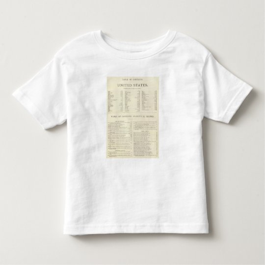Indexed Atlas of the world United States Toddler T-shirt
