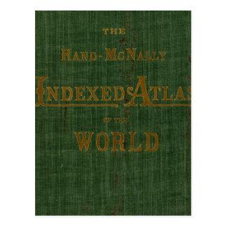 Indexed Atlas Postcard