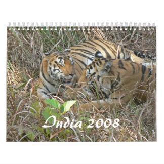 India 2008 calendar