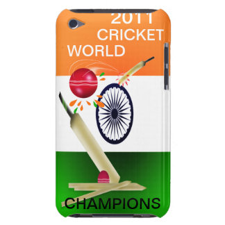 India 2011 ICC Cricket World Champs Ipod Case