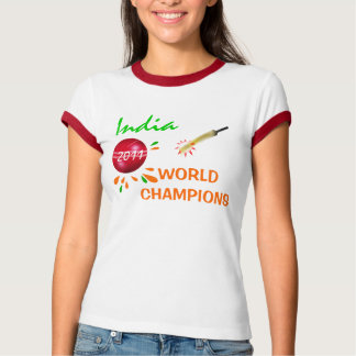 India 2011 ICC Cricket World Cup Champions T-Shirt