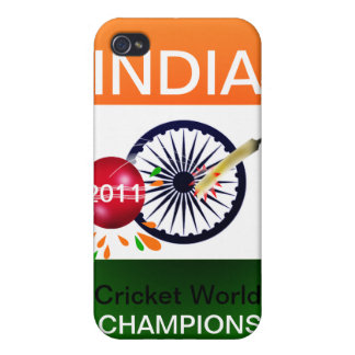 India 2011 ICC Cricket World Cup Iphone 4 Case