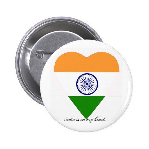 INDIA 2 INCH ROUND BUTTON