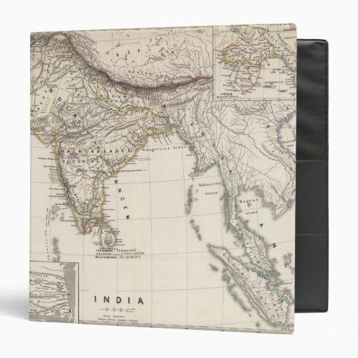 India 3 3 ring binder