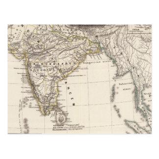 India 3 postcard