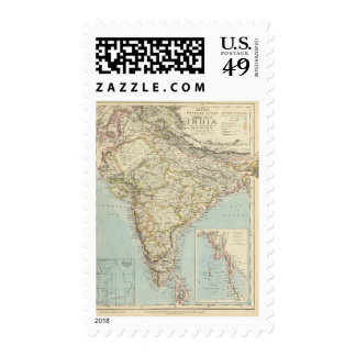 India 5 stamps