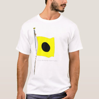 """India altering my course to port.  Signal Flag """"I"""" T-Shirt"""