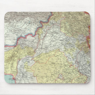 India and Afganistan Mouse Pad