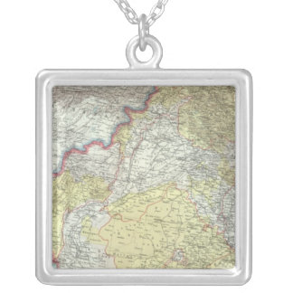 India and Afganistan Silver Plated Necklace