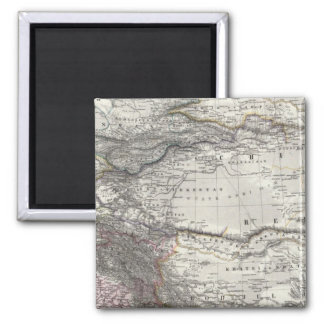 India and China 2 Inch Square Magnet