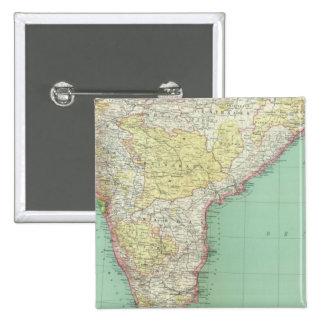 India and Sri Lanka 2 Pinback Button