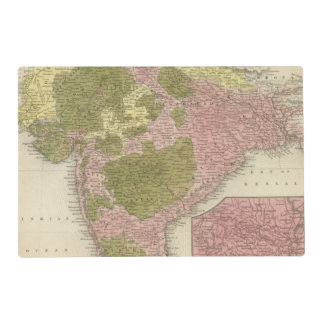 India and Sri Lanka Placemat